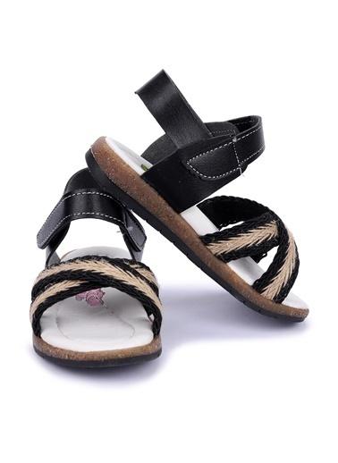 Kiko Kids Spor Sandalet Siyah